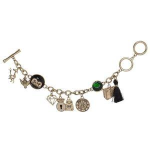 Fantastic Beasts Gold Charm Bracelet
